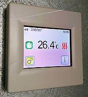 Терморегулятор программируемый с сенсорным управлением tft