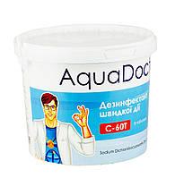 """''AquaDoctor C60-T"""" (4кг) быстро растворимый дезинфектант в таблетках"""