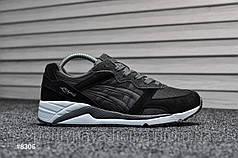 Мужские кроссовки Asics Gel Lyte Lique Black (Реплика)