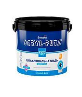 Acryl-Putz шпаклівка готова, фінішна, вн., біла, 17 кг