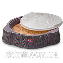 Пісочниця Пень з кришкою Little Tikes 644658