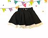 Детская школьная юбка Клеш