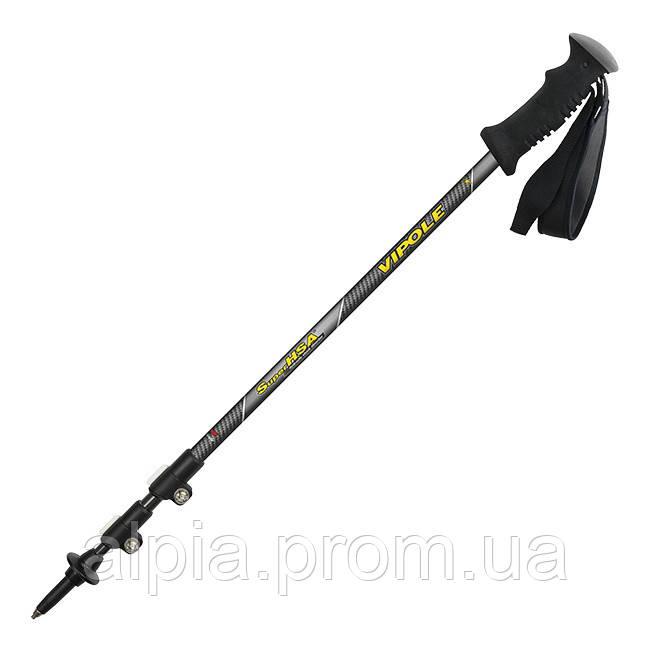 Треккинговые палки Vipole Super HSA QL Carbon Roundhead (Antishock)