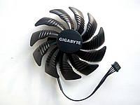 Вентилятор №133 кулер для видеокарты Gigabyte PLD09210S12HH T129215SU RX 550 560 GTX 1050 1060 1070 mini itx