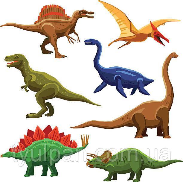 Вафельная картинка динозавры