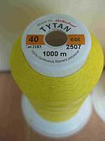 Нитки «TYTAN» №40 желтые тона