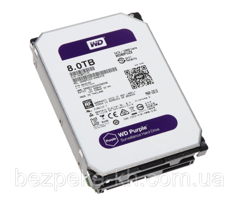 "Жорсткий диск 3.5"" SATA 8Tb WD Purple WD82PURZ"