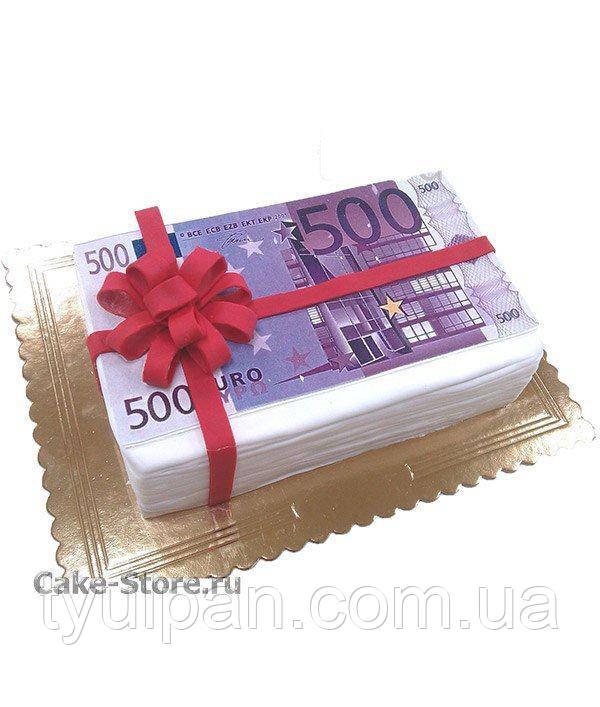 Вафельные картинки  на торт формат А5 14*21 см разные 13 деньги