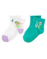 Детские носочки для девочки (2 пары)   2-3 года, 4-5 лет