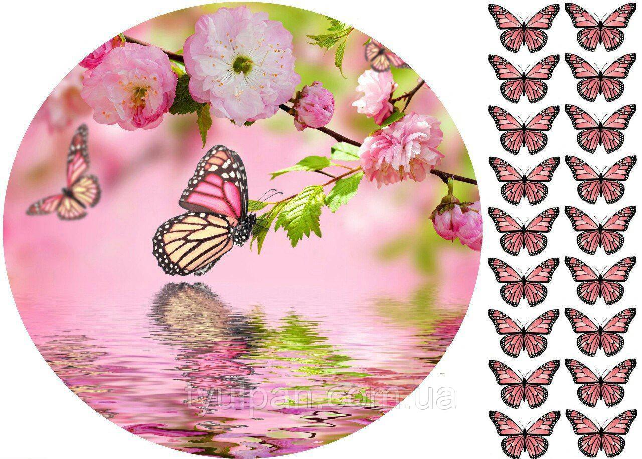 Вафельні картинки букети квіти опт і роздріб!