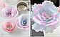 Вафельные картинки для вафельной флористики орхидея салатовая, фото 9