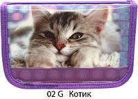 "Пенал школьный 3D Smile ""Good days start with CAT"""