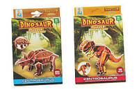 "3d пазлы ""Dino""  (коричнеый) R129"