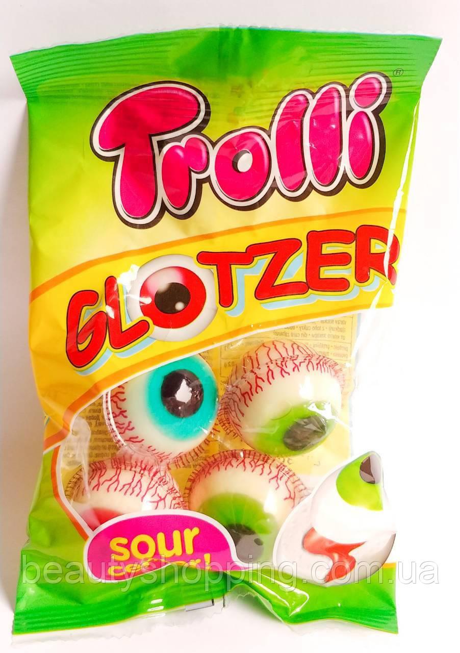Trolli glotzer глаза жевательный мармелад 75 гр