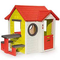Детский игровой домик My House со столиком Smoby 810401