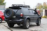 Силовий бампер задній Mitsubishi Pajero Sport, фото 3