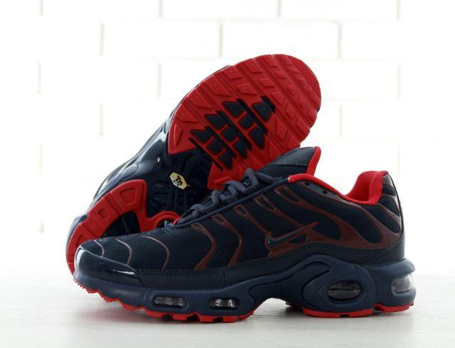 62ca766b8a7836 Описание Кроссовки в стиле Nike Air Max TN Plus Dark Blue/Red мужские