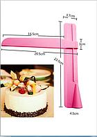 Инструмент для выравнивания торта линейка уголок