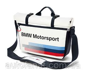 Спортивная сумка-мессенджер BMW Motorsport Messenger Bag (80222446463)