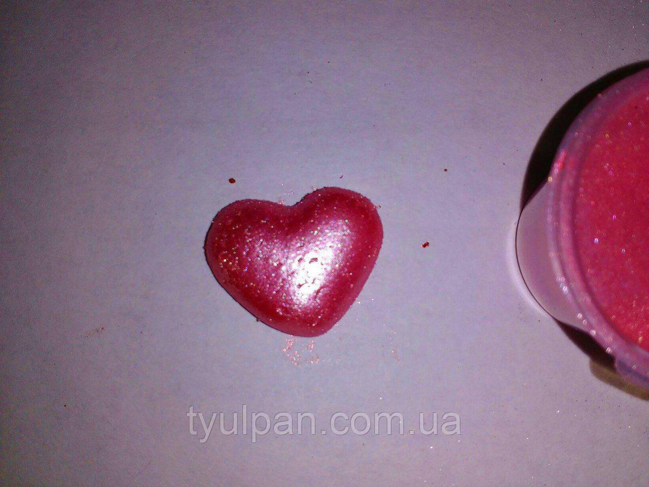 Кандурин пищевой розовый 5г