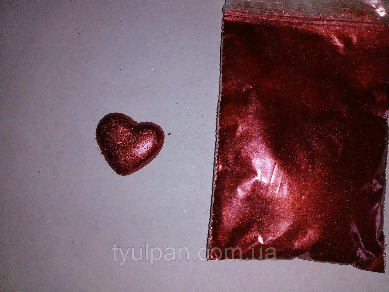 Кандурин пищевой бордовый 5г