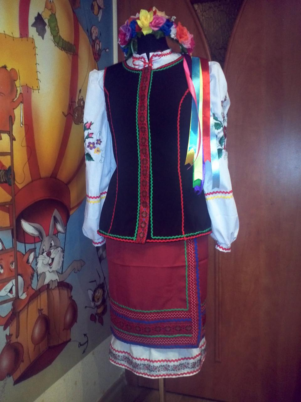 Костюм украинский женский (спидниця 3c5a713abca79