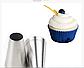 Круглая Насадка кондитерская для крема №8 средняя  выходе 0,8 см, фото 2