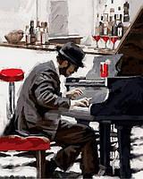 """Раскраски по номерам """"Блюз зимнего вечера"""" 40х50см, С Коробкой"""