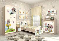 Зеркало настенное Совы в детскую комнату ТМ Вальтер-С Z-1.64