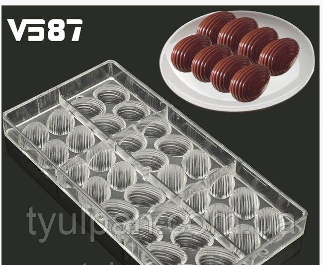 Мери поликарбонатная форма для шоколадных конфет