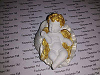 Молд для мастики младенец ангелочек № 2 с крыльями