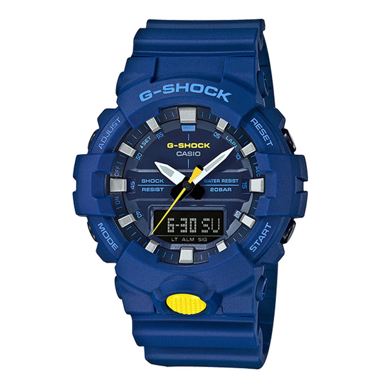 Часы Casio G-Shock GA800SC-2A