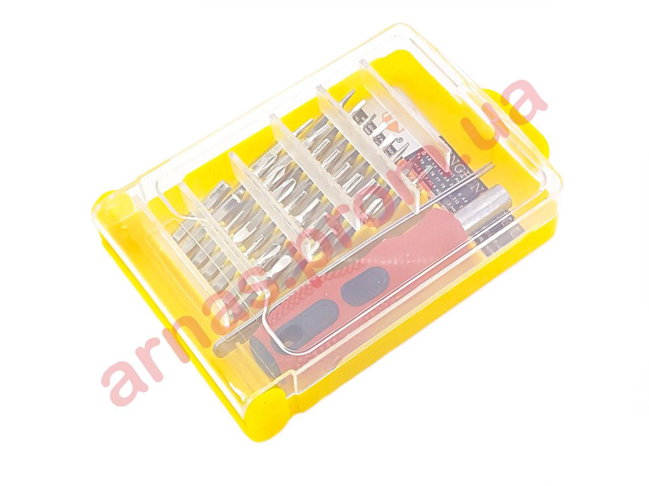 Отвертка с насадками 32 шт HF-9829 (3-12)