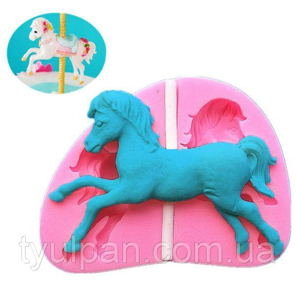 Молд силиконовый лошадка
