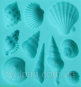 Молд силиконовый морской ракушки