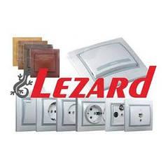 Розетки, выключатели lezard