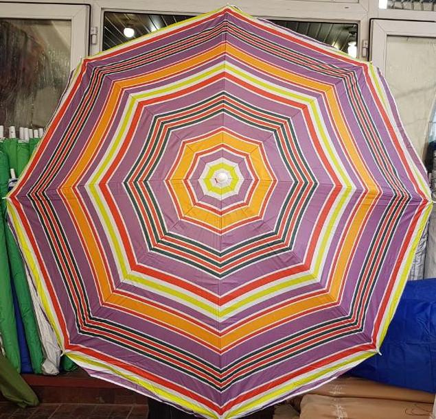 Зонт пляжный 1.5 м без наклона без напыления