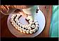 Насадка кондитерская круглая для торта сердце мильфей, фото 3