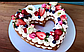 Насадка кондитерская круглая для торта сердце мильфей, фото 5