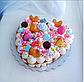 Насадка кондитерская круглая для торта сердце мильфей, фото 6