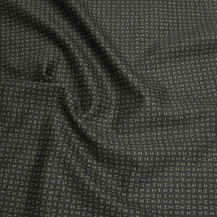 Трикотаж Алекс (джерси) принт D-10-4 черный, фото 2