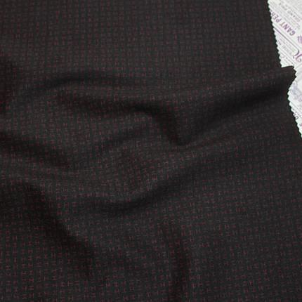 Трикотаж Алекс (джерси) принт D-10-6 черный, фото 2