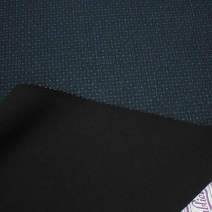 Трикотаж Алекс (джерси) принт D-18-2 синий, фото 2