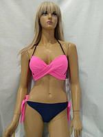 205f968a25f98 Модный раздельный купальник в оригинальном дизайне. Семь цветов. Размеры  наши 42 44 46 48