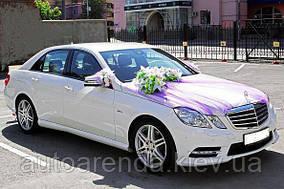 белый Mercedes Benz w212 E Class
