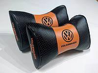 Подушка на подголовник Volkswagen Polo комбинированная