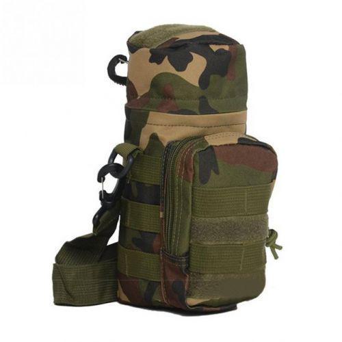 Тактическая сумка на пояс для бутылки с MOLLE 26*12см N02248 Camo