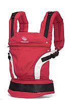 Ергономічний слінг-рюкзак  manduca First Red (червоний).