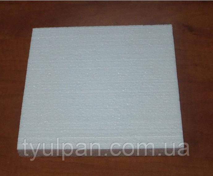 Подложка пенопластовая выс  2 см 30*30