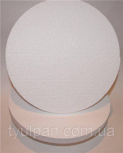 Подложка пенопластовая круг 30 выс 3 см